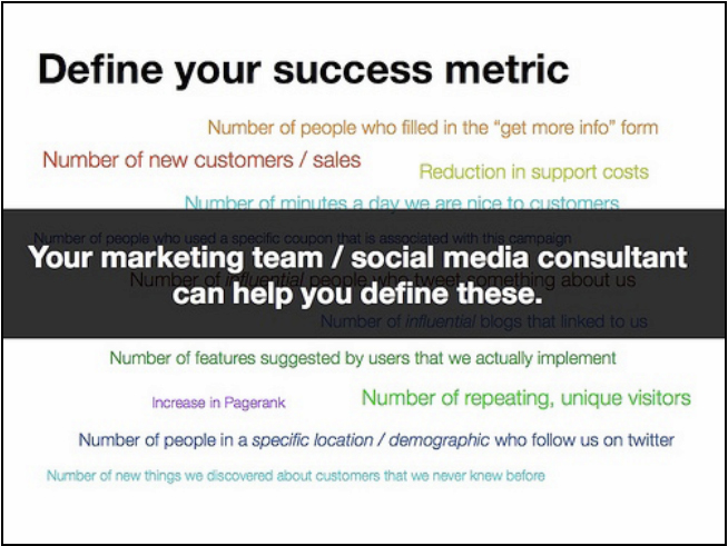 define-success-metric